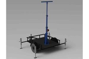 Larson Electronics LLC Releases Three Stage Light Mast with