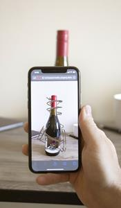 8th Wall Web AR Curved Image Targets for Siduri Wines