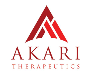 Akari Therapeutics Plc Announces Private Placement Nasdaq Aktx