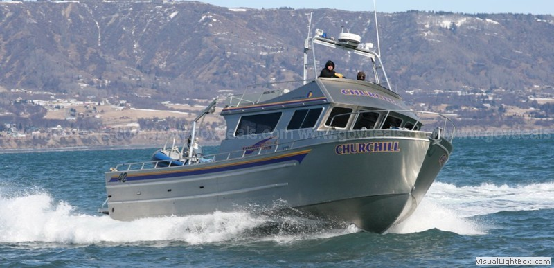 2013 Bay Welding 42' Aluminum Boat