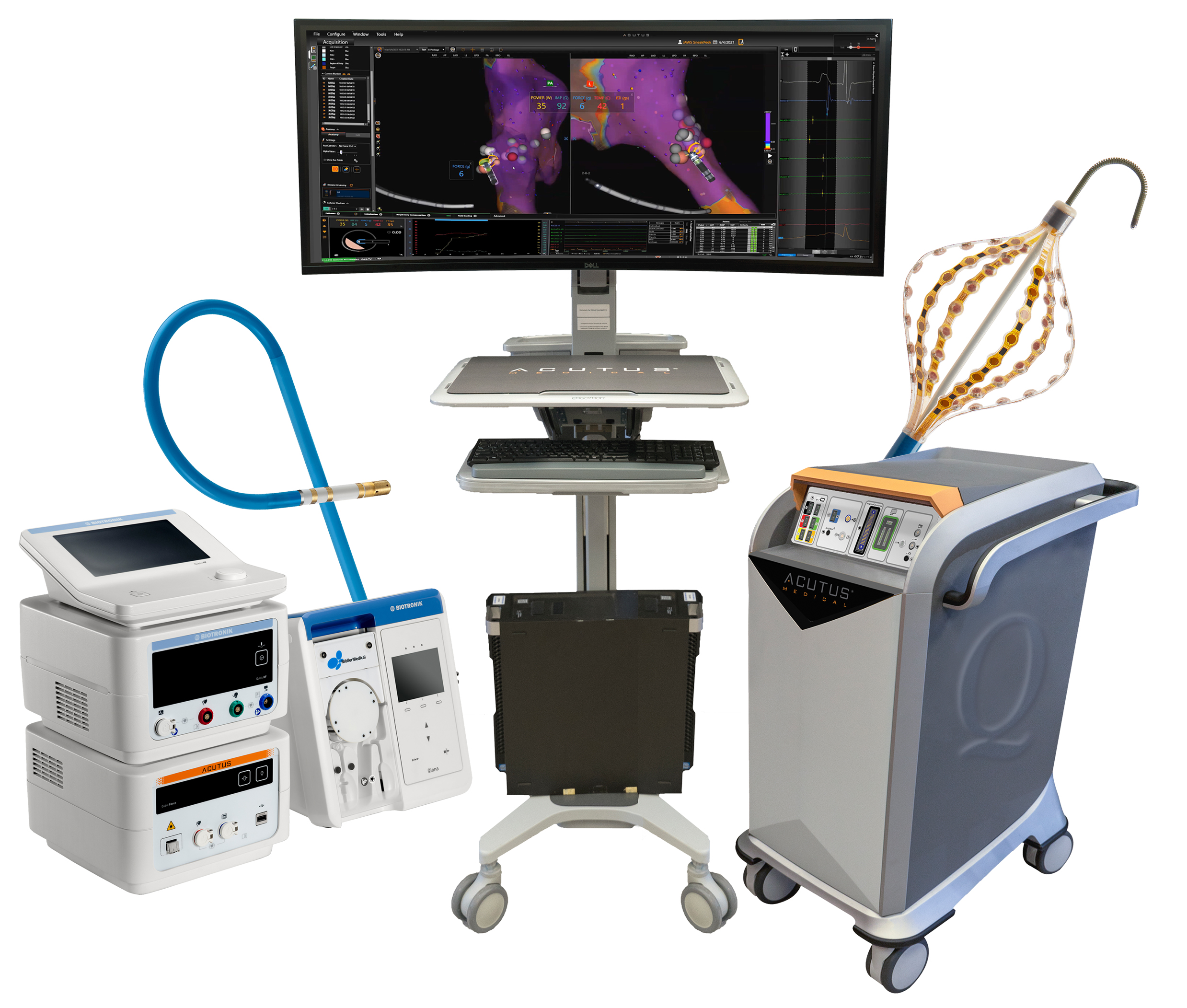 Acutus Medical's Fully Integrated Electrophysiology System