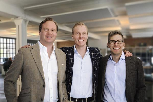 ZAGENO'S founders (from left to right): Chief Revenue Officer Florian Wegener, MD, PhD, MBA; Chief Operating Officer Kilian Veer, MS in electrical engineering; and Chief Executive officer David Pumberger, MMath, PhD.