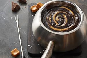 Cacao-Trace brings sustainably sourced cocoa to The Melting Pot's chocolate fondue.