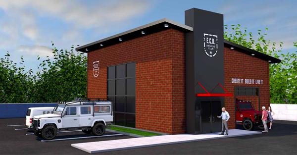 E.C.D. Automotive Design's Driver's Club