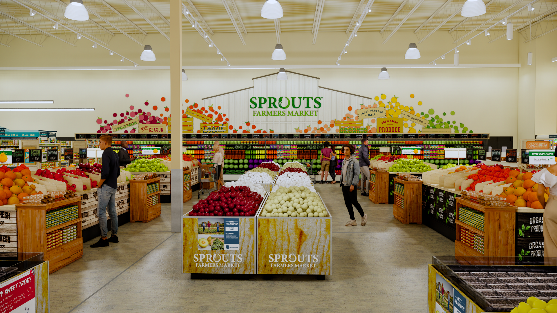 Sprouts_Produce Rendering