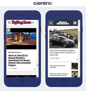 Centro Integrates with Sharethrough to Power In-Feed Native Ads on