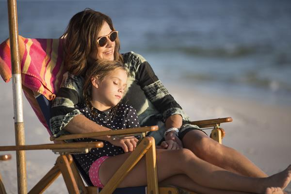 A mom cherishes a moment with her daughter during their annual Destin beach vacation. Destin vacation rentals provide a safe option for family vacations.