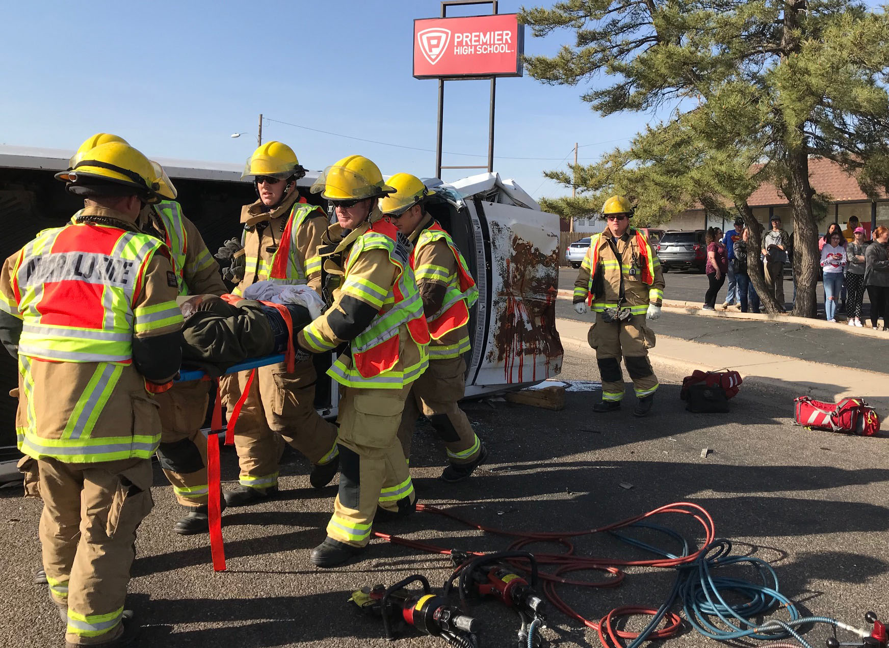 Shattered Dreams DUI Simulation Impacts Students at Premier