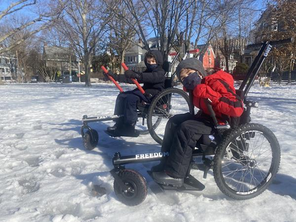 CAF and GRIT Partnership Provides More Outdoor Access and Freedom to Individuals Including the Gift of the First 20 GRIT Junior Chairs on the Market