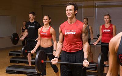 Group Power Fitness Class