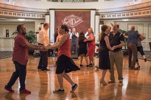 Swing Dance at the Fort Harrison Religious Retreat