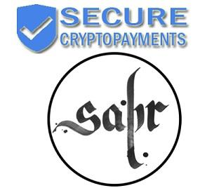 Secure Cryptopayments,LLC to Take SABR digital currency for payment transactions.