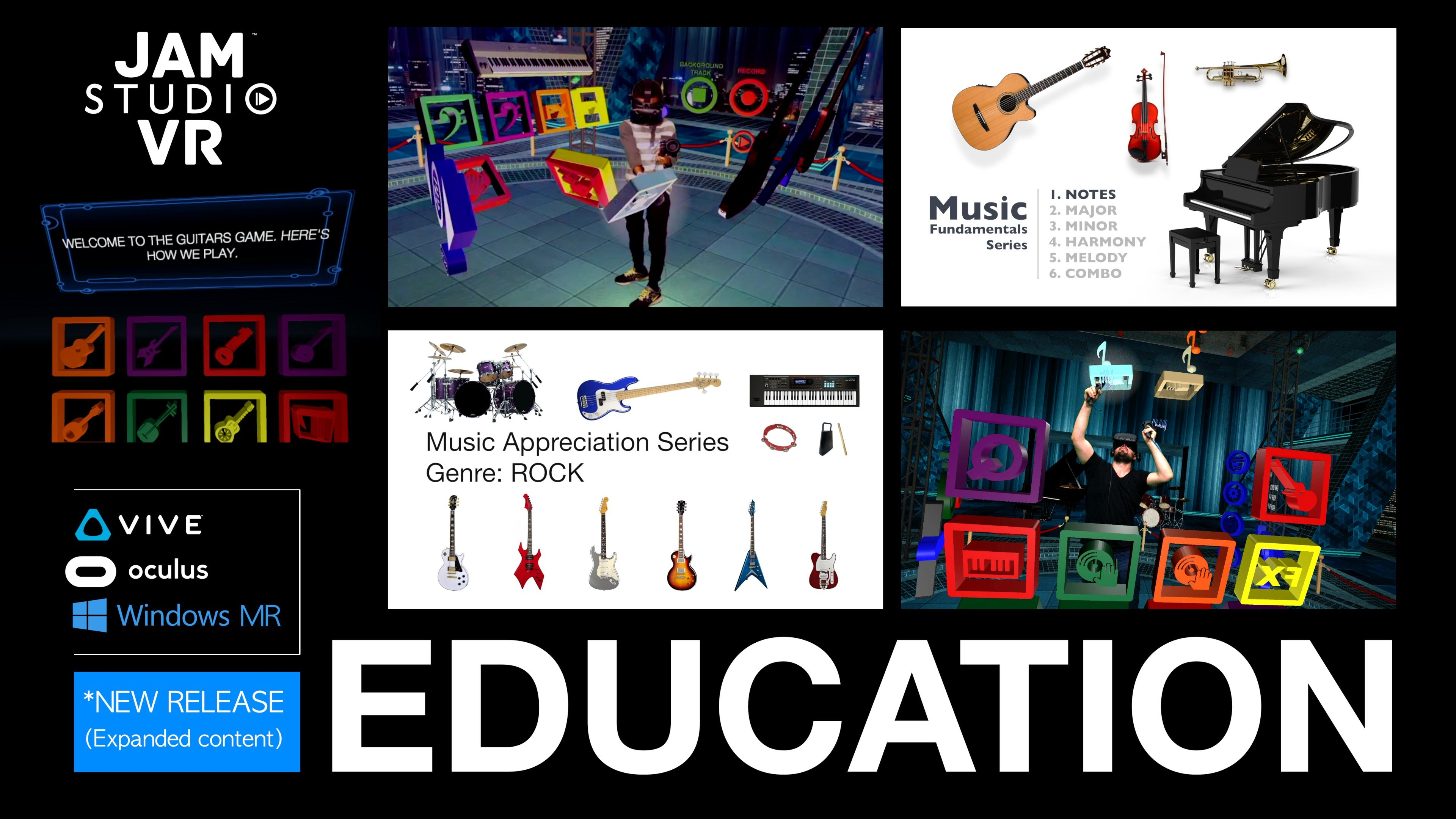 Jam Studio VR Education