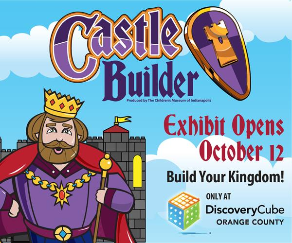 Castle Builder at Discovery Cube Orange County