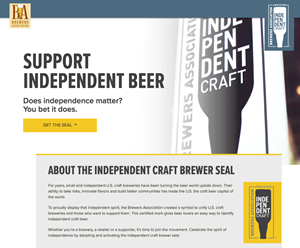 Brewers Association Introduces Independent Craft Brewer