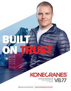 Konecranes and Valtteri Bottas Built on Trust
