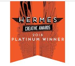 Hermes Creative Platinum Award Winner