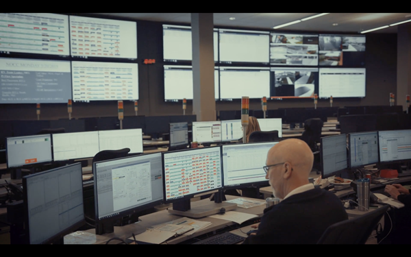 Kettering Health Network Operations Command Center powered by TeleTracking is located in Dayton, OH