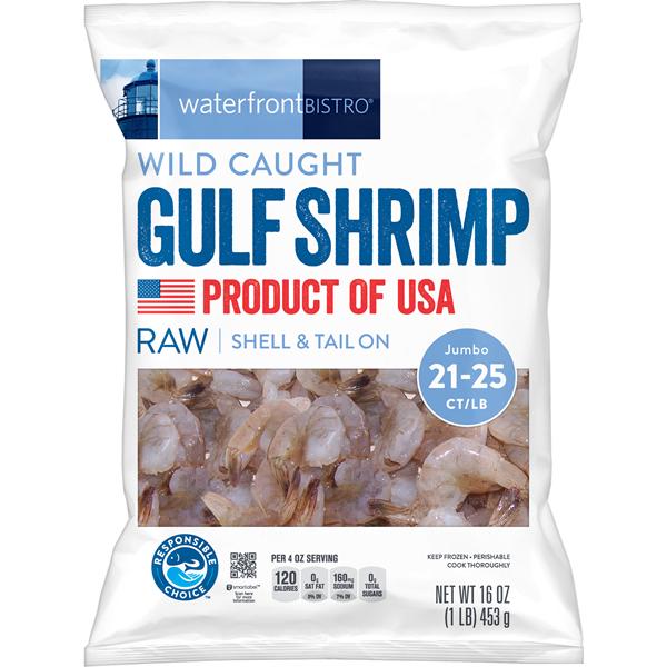 Albertsons Companies' waterfront BISTRO Wild Caught Gulf Shrimp