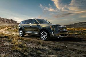 2020 Kia Telluride Named Motortrend S Suv Of The Year