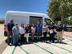 ADOMANI - Palmdale SAVES Van Delivery