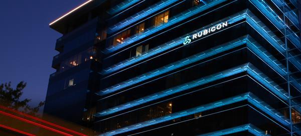 Rubicon's new Lexington, Kentucky Headquarters at Night