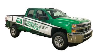 PSI's Propane powered GM Silverado 2500