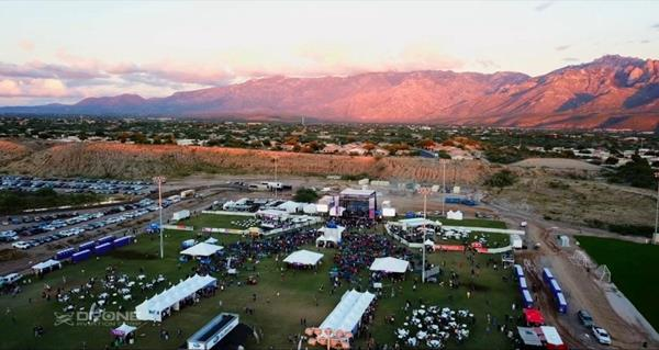 Drone Aviation's FUSE Tether System deployed at a large music festival by the Oro Valley Police Department.