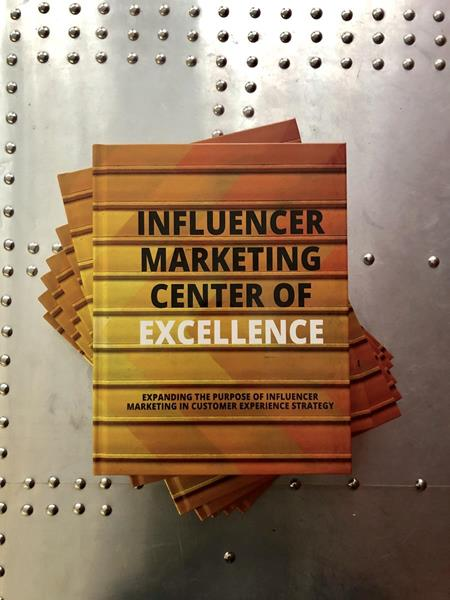Influencer Marketing Center of Excellence