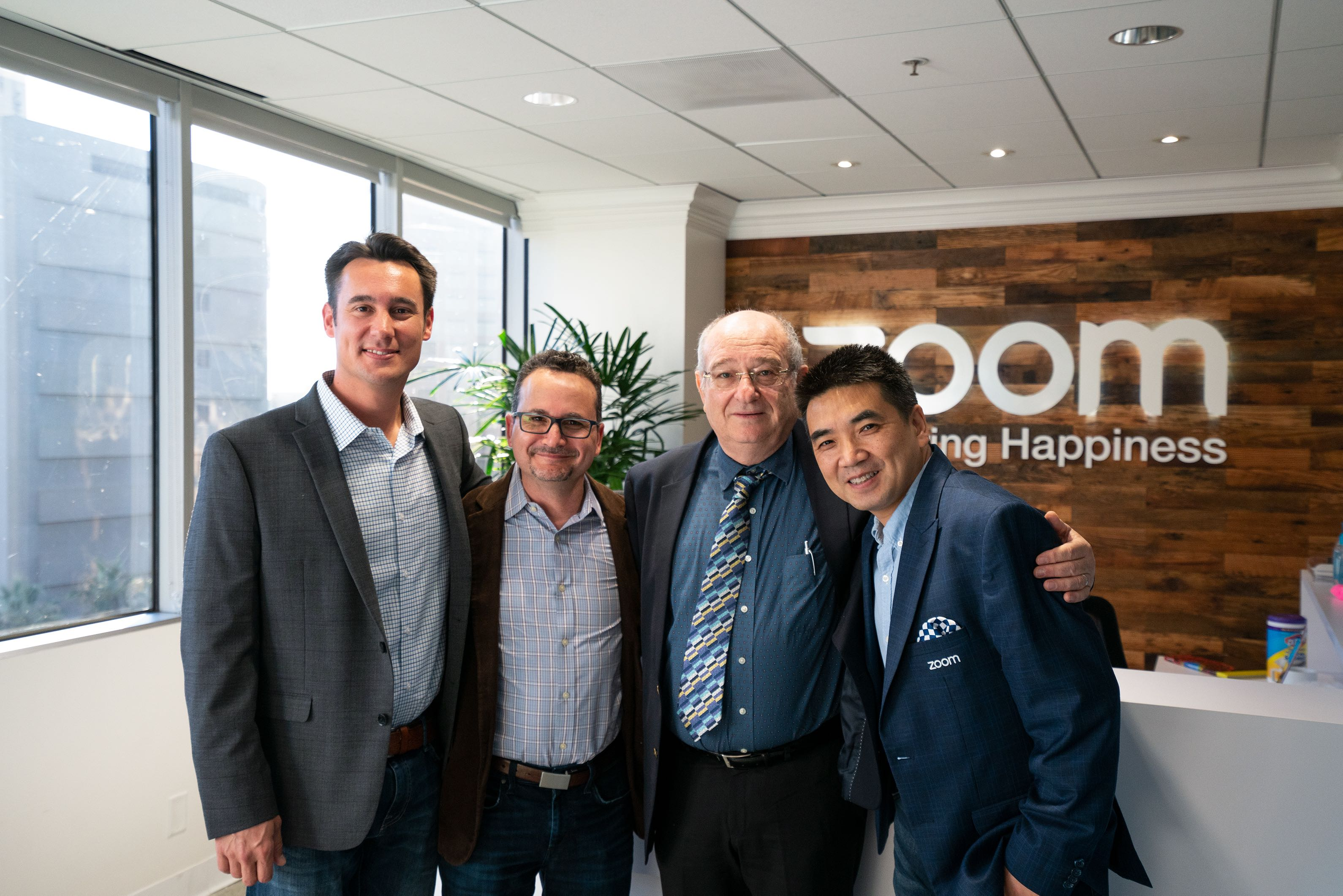 Technion Visit to Zoom Headquarters, October 2018