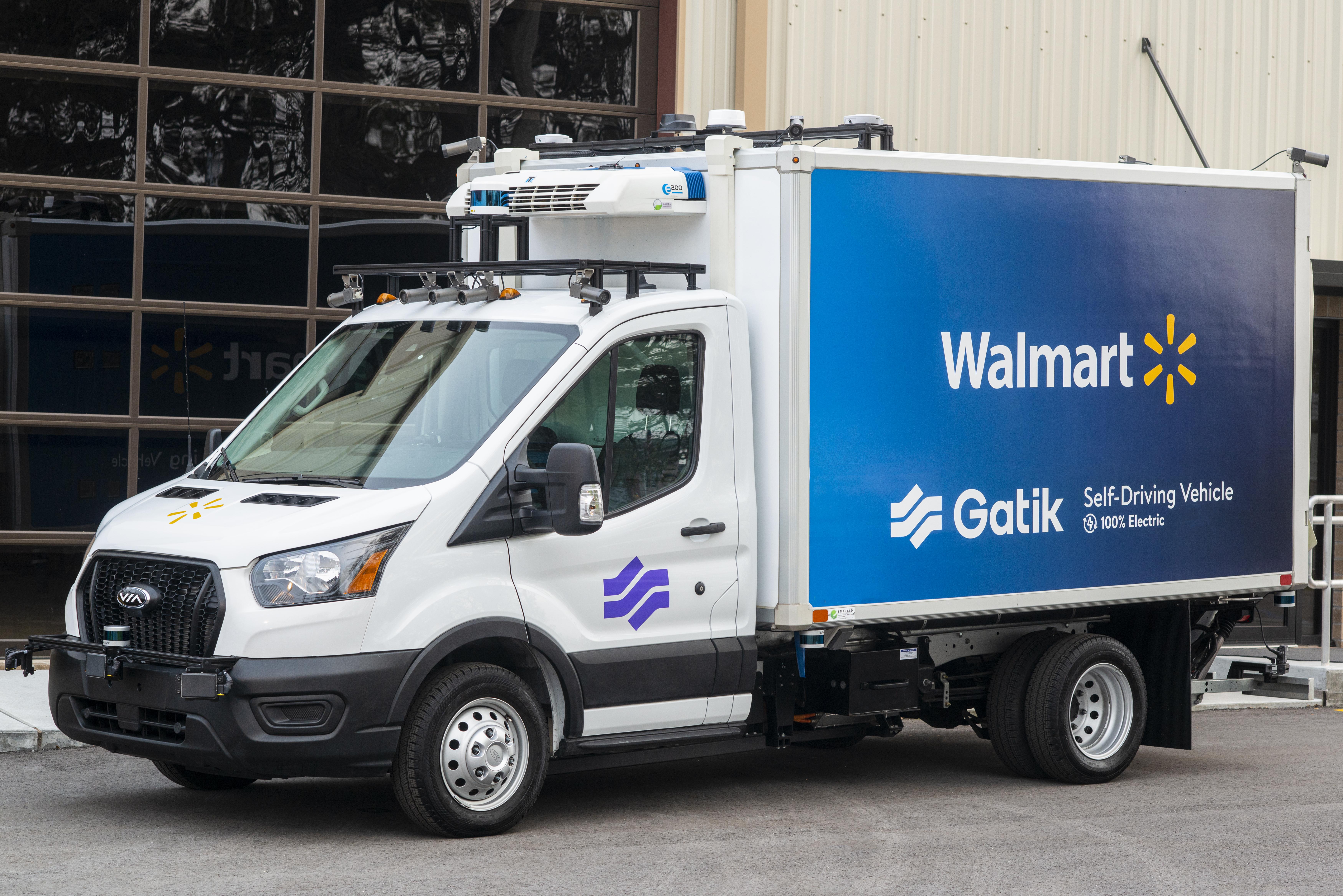 Gatik Electric Autonomous Box Truck