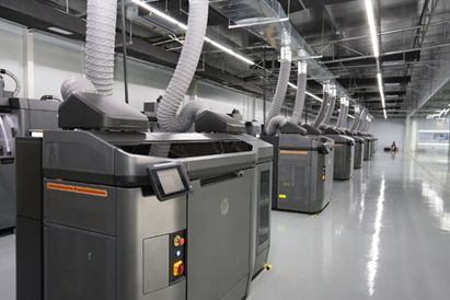 HP Multi Jet Fusion Technology Mass Manufacturing Center