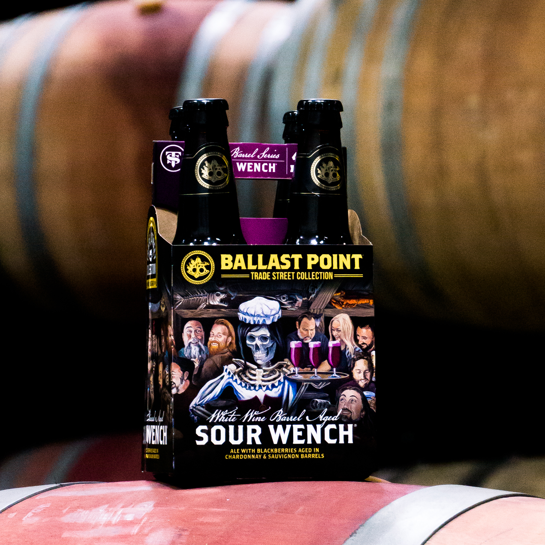White Wine Barrel-Aged Sour Wench - 4pk