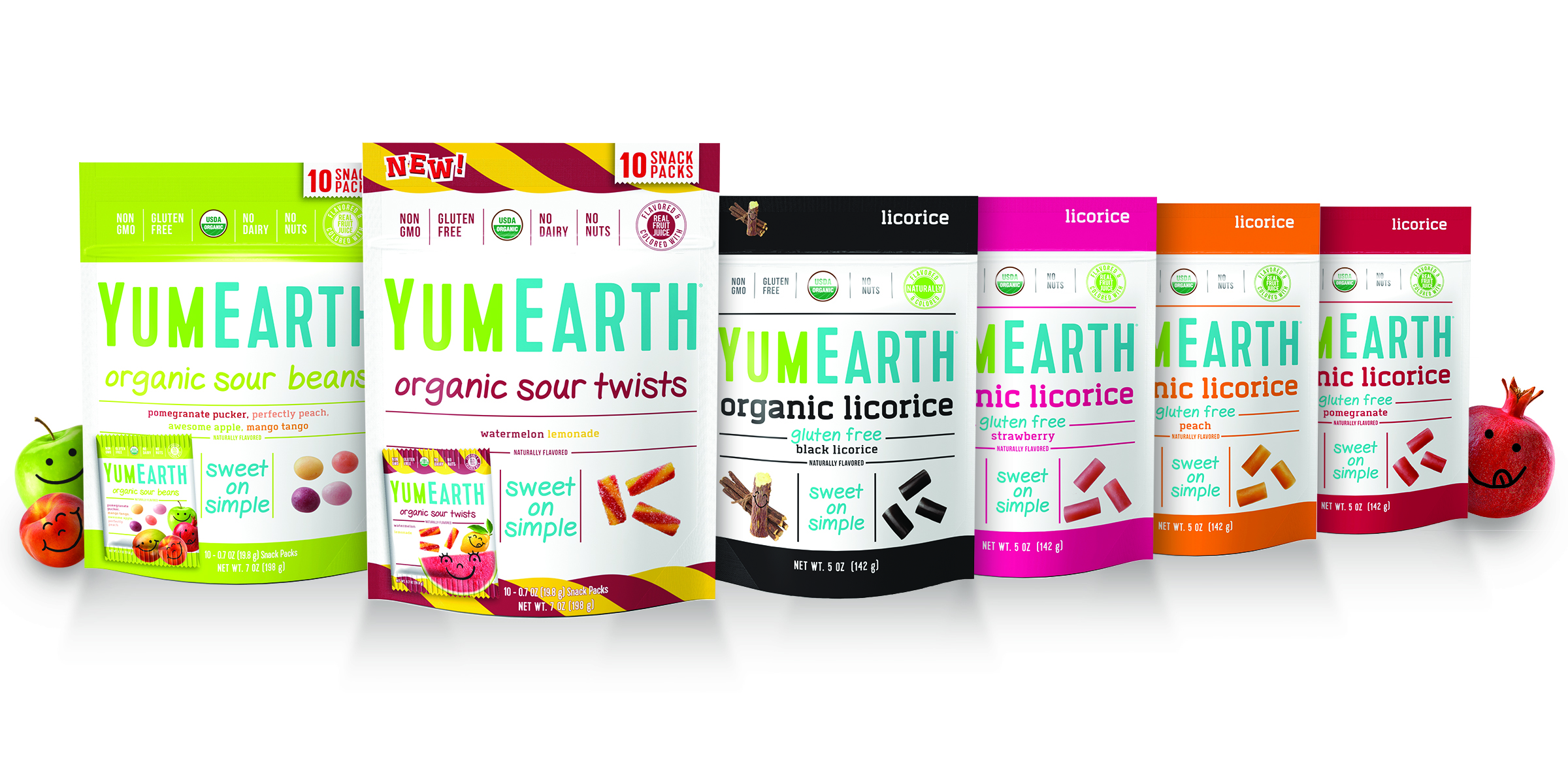 Six New Organic Candies from YumEarth