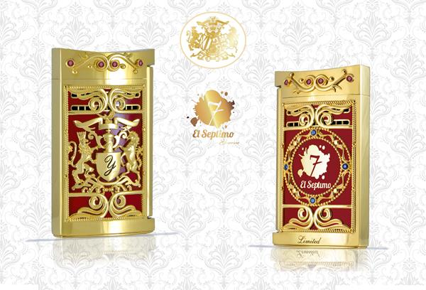 The Presidential Collection Lighters come in three different precious stones, which include Sapphire, Emerald and Ruby.
