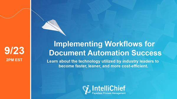 Implementing Workflows for Document Automation Success