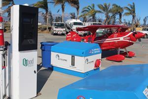 QTpod's M4000 Self-Serve Fueling Terminal installed at Encore Jet Center