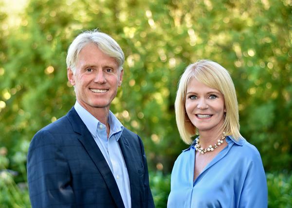 Peter Cowperthwaite and Terri Kerwin of the Kerwin Cowperthwaite Group, Golden Gate Sotheby's International Realty.