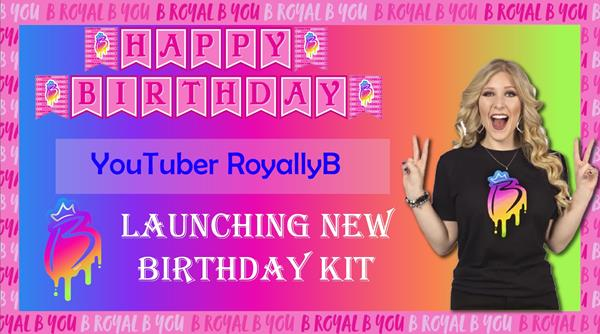 ADMQ RoyallyB Birthday Kit