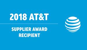 Cisco: 2018 AT&T Supplier Award