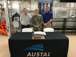 Austal Delivers Expeditionary Fast Transport (EPF 10