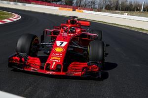 Scuderia Ferrari 2018 F1