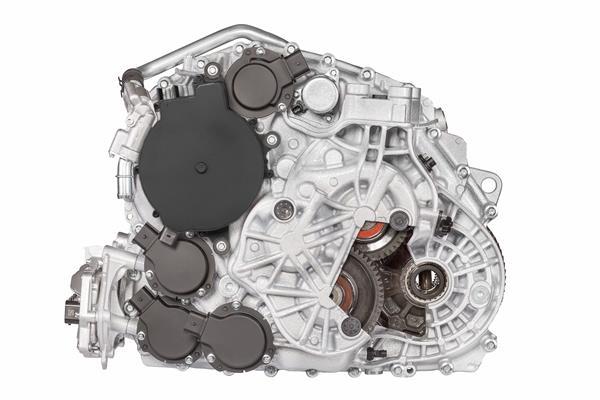 TS_7HDT300 Hybrid Dual-Clutch Transmission_Mild_Hybrid_48V_rear view