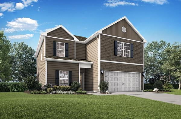 The Potomac by LGI Homes will be available at the Brookwood Grand Opening on Dec. 7, 2019.