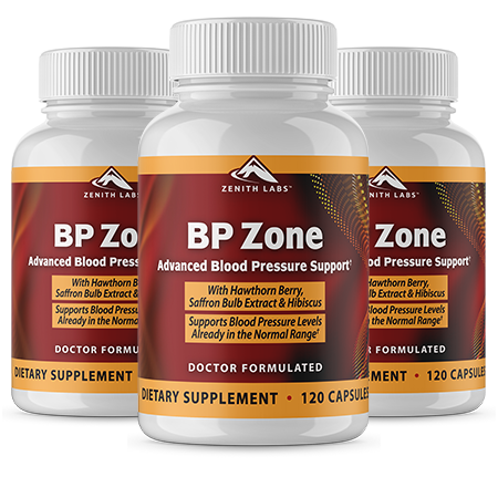 Zenith Labs BP Zone supplement -