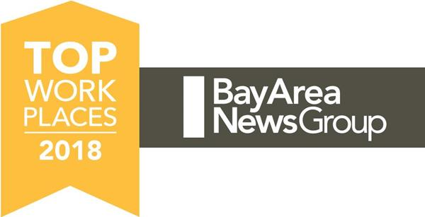 Bay Area News Group Awards Badge
