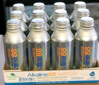 The Alkaline Water Company®: Alkaline88® Eco-Friendly Aluminum Bottles 12-Pack Case