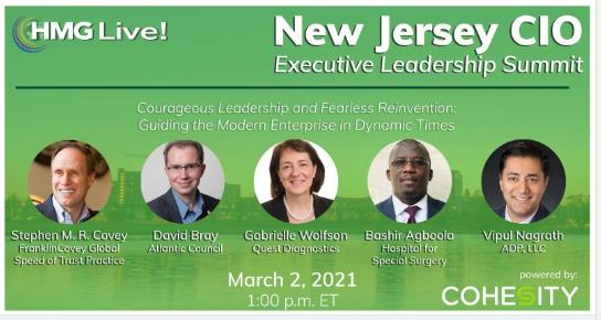 2021 HMG Live! New Jersey CIO Executive Leadership Summit