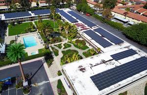 Guests Sleep Green at Ramada Silicon Valley with newly installed Mitsubishi Electric Solar Panels