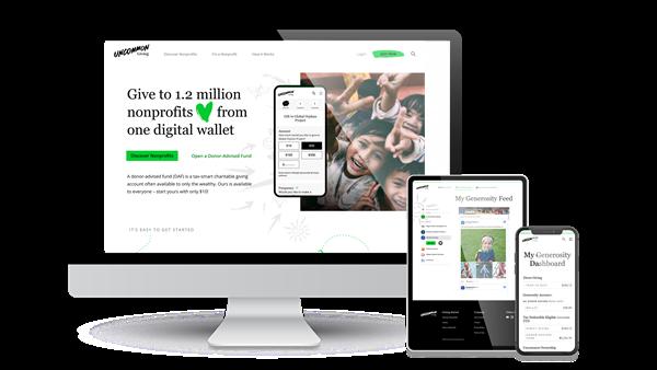 Uncommon Giving Platform Visual